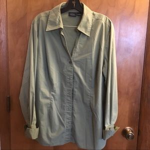 Sonoma Jean Company long sleeve button up blouse